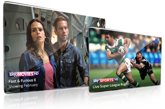 Sky Sports & Sky Movies in HD