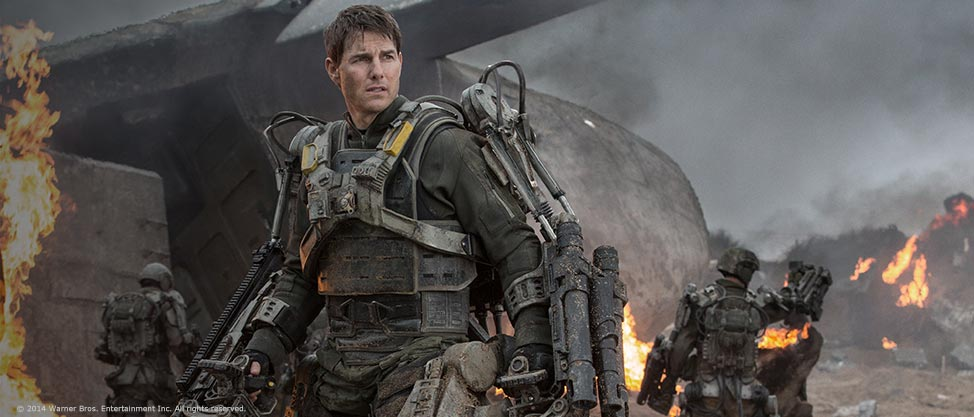 Edge of Tomorrow: Live. Die. Repeat.
